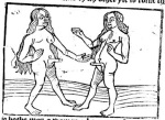 Just a couple of anatomically correct and partly aroused hermaphrodites. #WoodcutWednesday