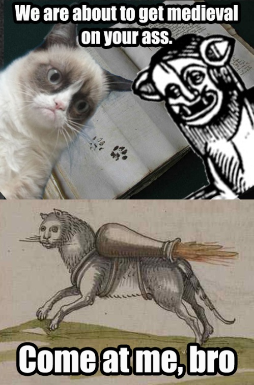 Tiger Style. Tiger Style. Tiger Style. Medieval-Cat Clan Ain't Nuthin to Fuck Wit.